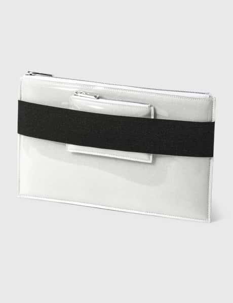 MM6 메종 마르지엘라 Maison Margiela PVC Foam Envelope Clutch