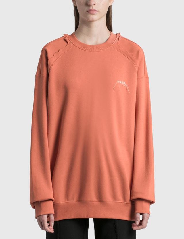 Ader Error Kaput Sweatshirt Pink (pink) Women