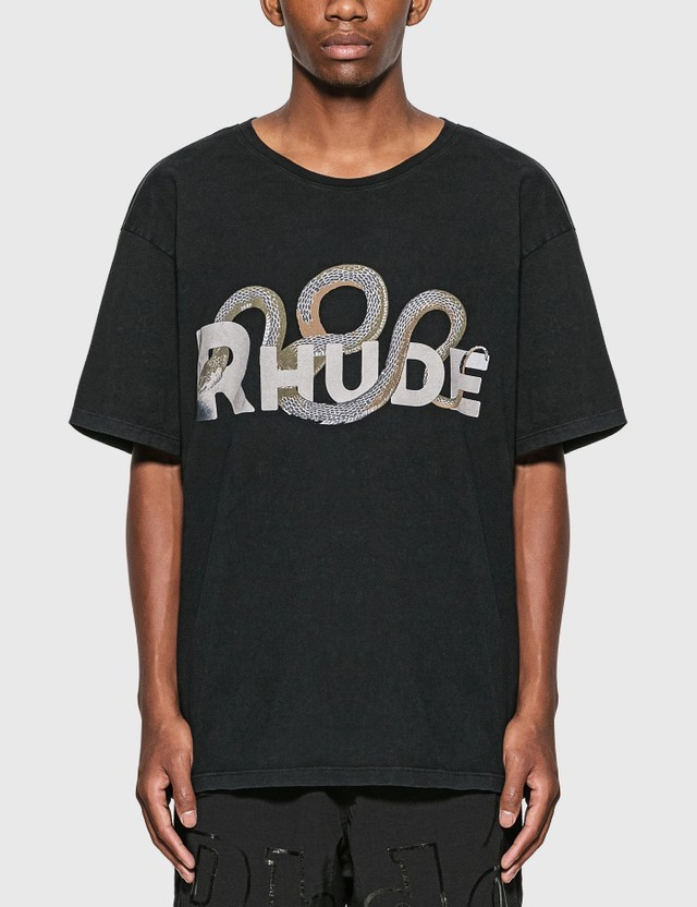 Rhude Snake Logo T-Shirt