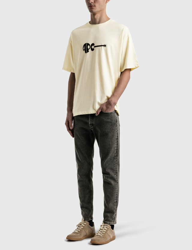 A.P.C. Mael T-shirt Yellow Men
