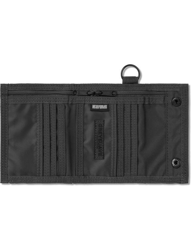2f5c0b0f46f4 Head Porter - Grey Spirit Wallet (m)