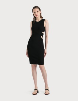 Helmut Lang Slash Overlay Tank Dress