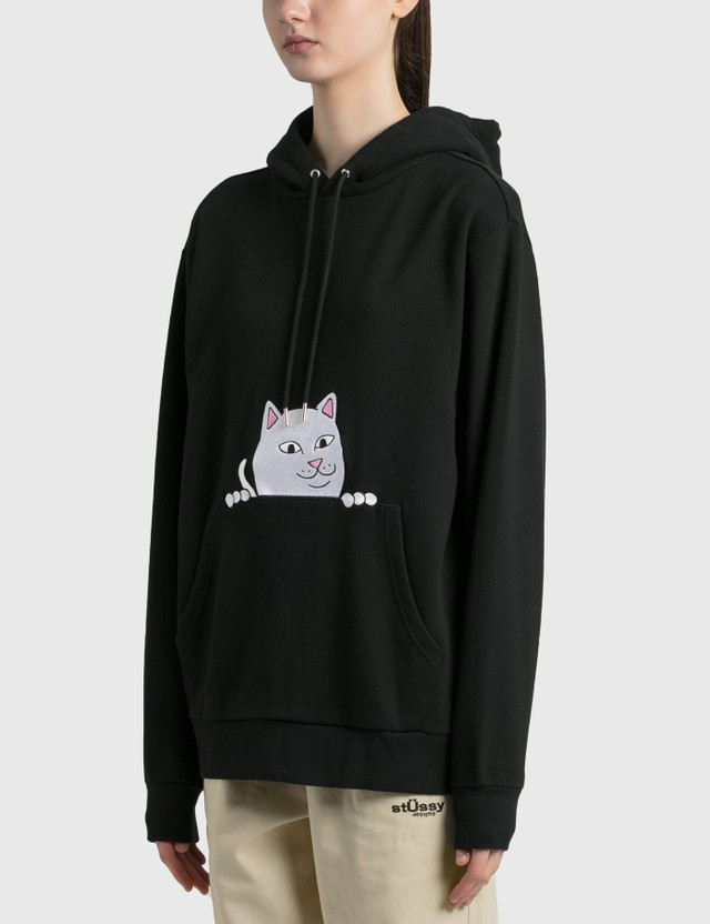 RIPNDIP Peeking Nermal Hoodie Black Women