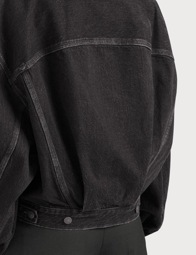 Acne Studios Morris Cropped Vintage Denim Jacket