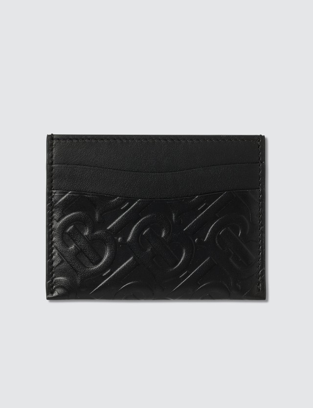 Burberry Leather Logo Card Holder