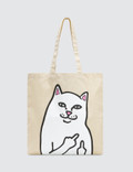 RIPNDIP Lord Nermal Canvas Tote Bag Picture