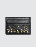 Alexander McQueen Skull Leather Card Holder Picture