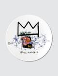 """Ligne Blanche Jean-Michel Basquiat """"King Alphonso"""" Limoges Porcelain Plate Picture"""