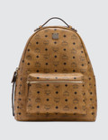 MCM Stark Backpack with Nylon Straps Picutre
