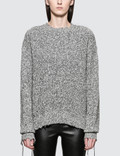 Helmut Lang Distressed Relaxed Long Sleeve Crewneck Picture