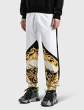 Versace Barocco Acanthus Print Sweatpants Bianco-nero-oro Men