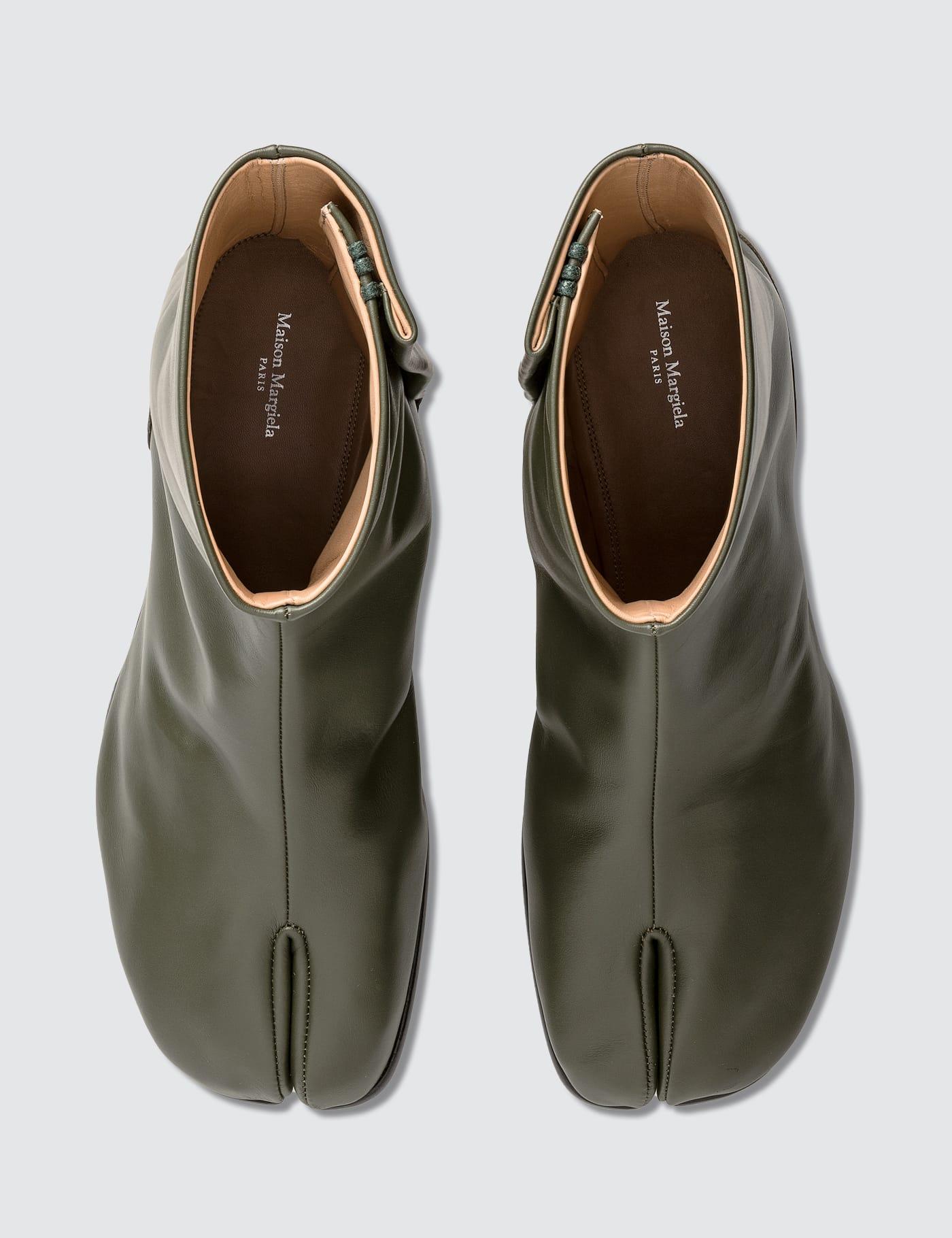 Maison Margiela - Tabi Leather Ankle