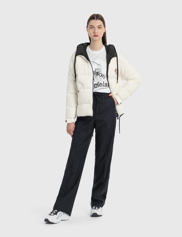 Moncler Shearling Jacket White Women