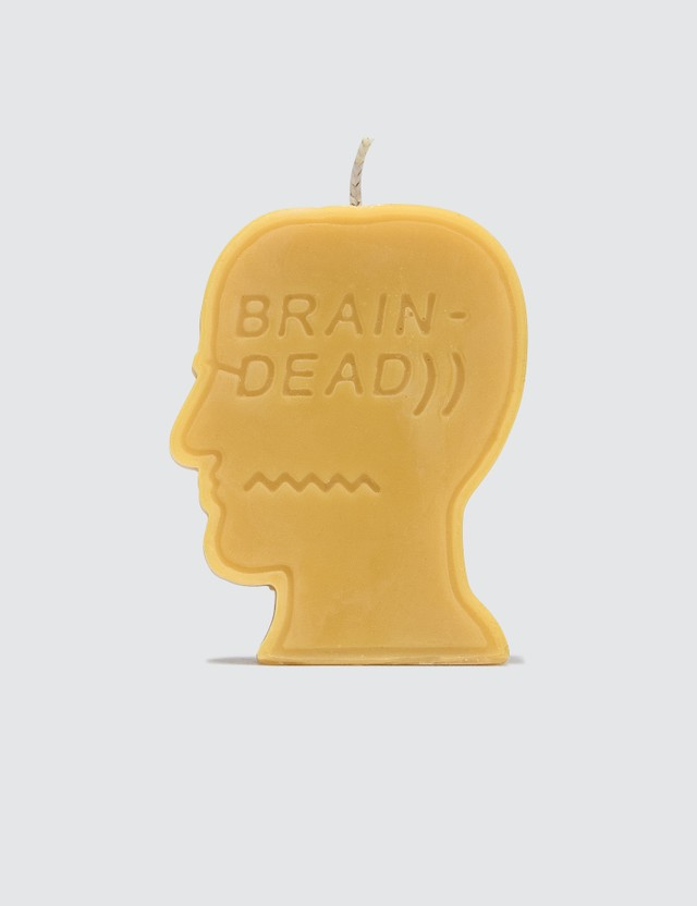 Brain Dead Logo Head Candle