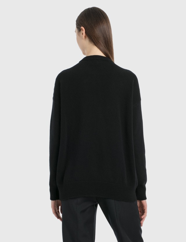 Loewe Loewe Beads Sweater Black Women