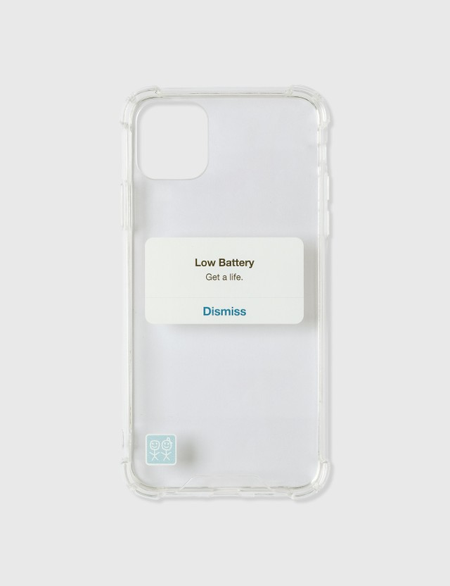 Urban Sophistication Get A Life iPhone Case Clear Unisex