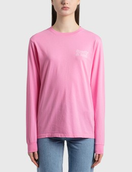 Sporty & Rich Fun Logo Long Sleeve T-Shirt