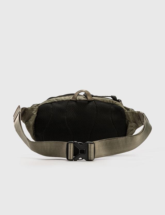 C.P. Company Nylon Lens Crossbody Bag Stone Gray Men