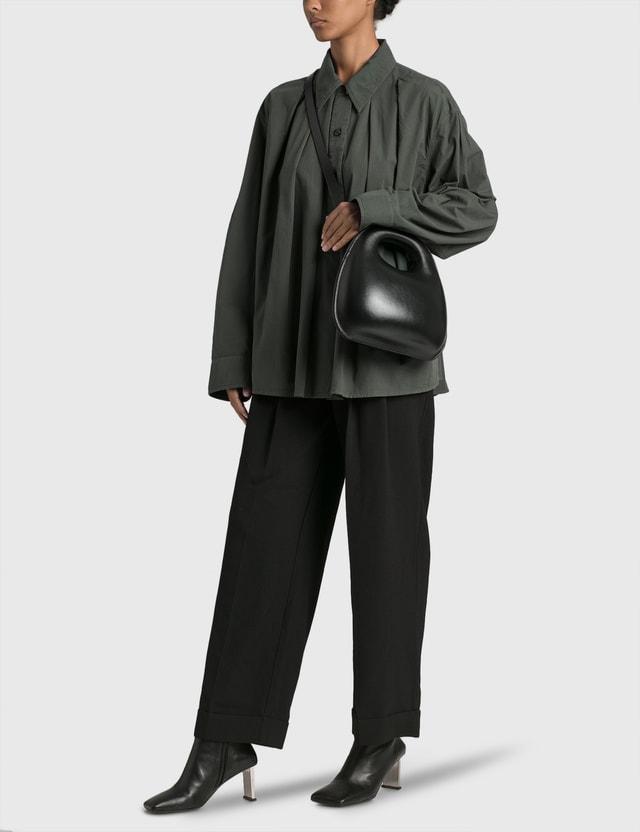 Lemaire Egg Bag Black Women