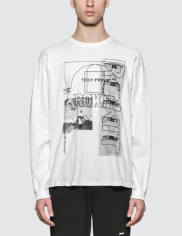 Rokit The Testprint L/S T-Shirt
