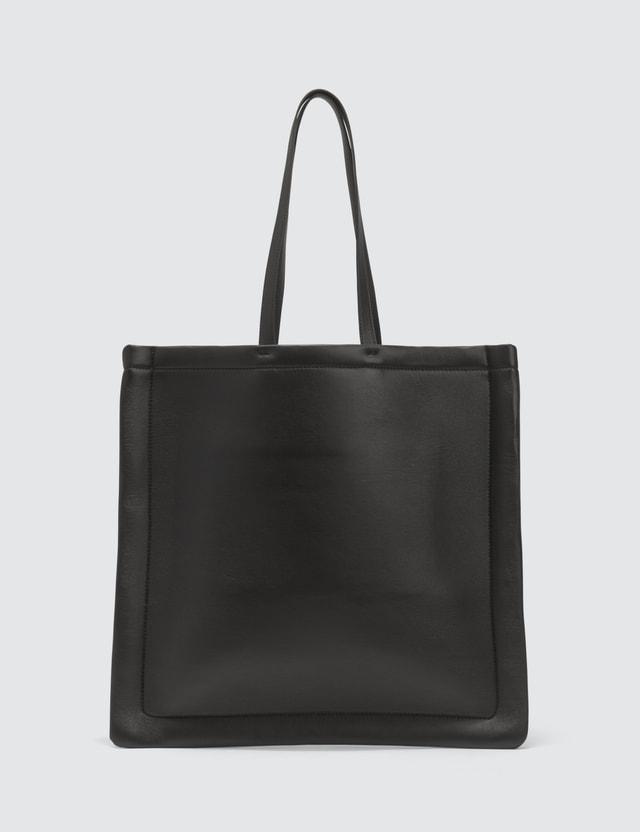 Maison Margiela Outline Leather Tote Bag