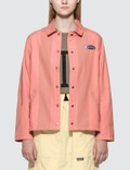 Stussy Etta Striped Coach Jacket Picture