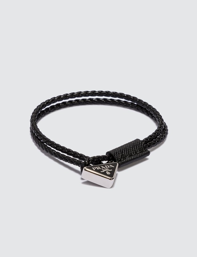 Prada Prada Leather Bracelet