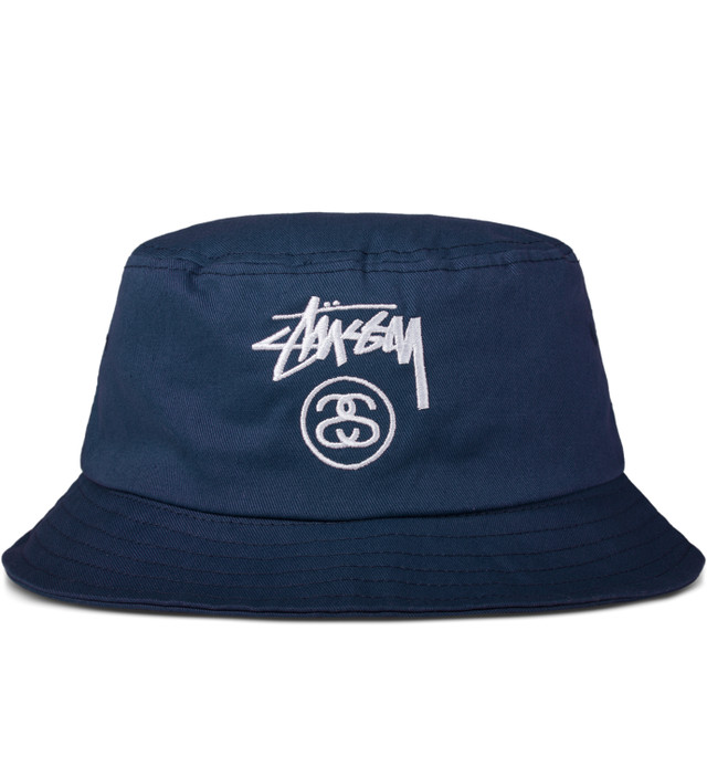 Stussy - Navy Stock Lock Ho14 Bucket Hat  038c349b3710