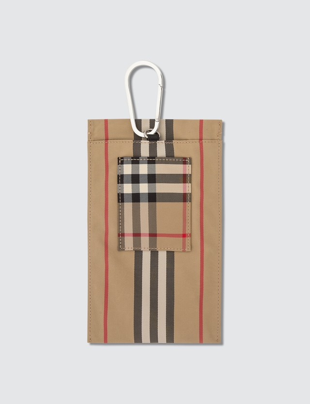 Burberry Iconic Stripe Pouch
