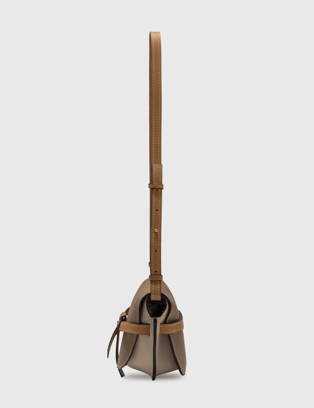 Loewe Small Gate Bag Mink Color/light Oat Women
