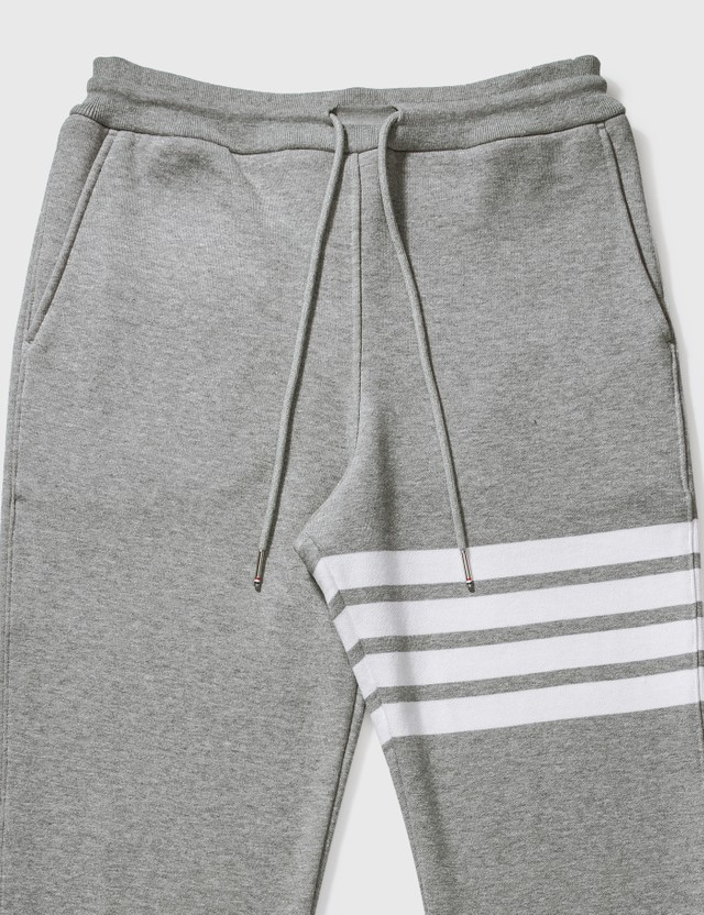 Thom Browne Classic 4-Bar Sweatpants Light Grey Men