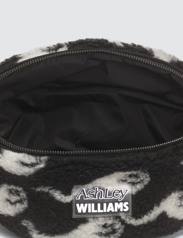 Ashley Williams Sperm Print Shearling Belt Bag