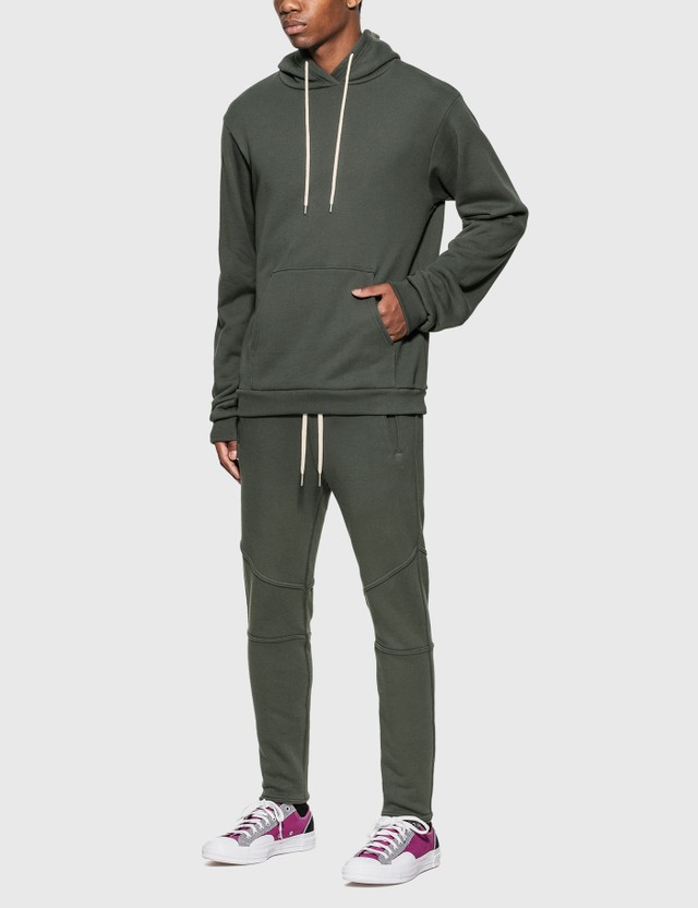 John Elliott Beach Hoodie Carbon Men