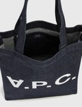 A.P.C. VPC Logo Tote Bag Iai Indigo Women