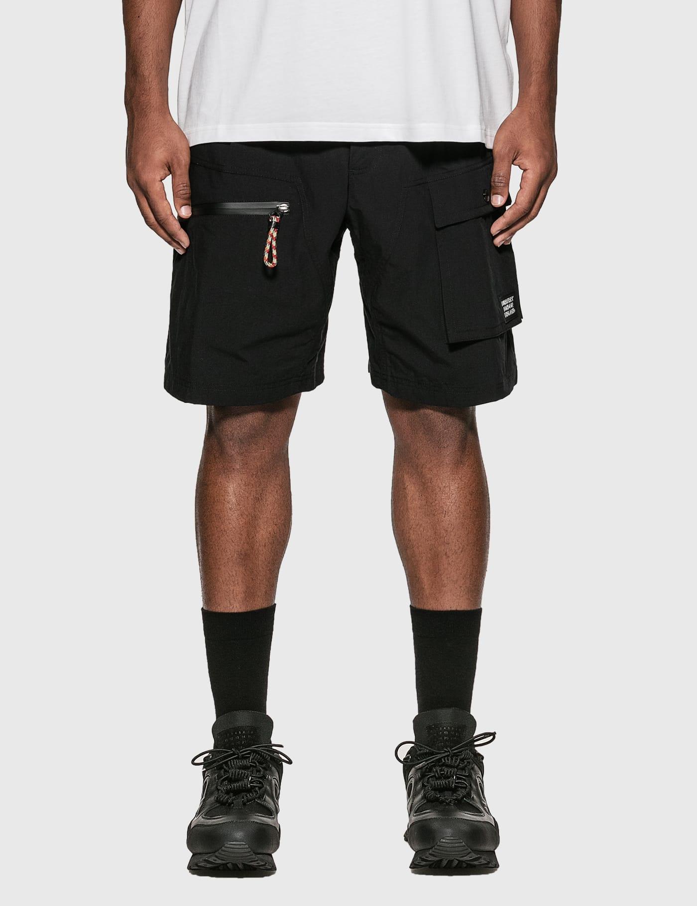 Logo Appliquu00e9 Cotton Blend Cargo Shorts