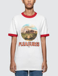 Pleasures Killafornia Ringer Short Sleeve T-shirt Picutre