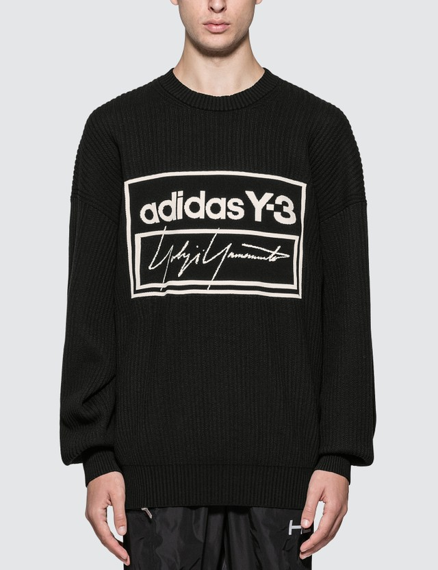 Y-3 U Tech Knit Crew Sweatshirt