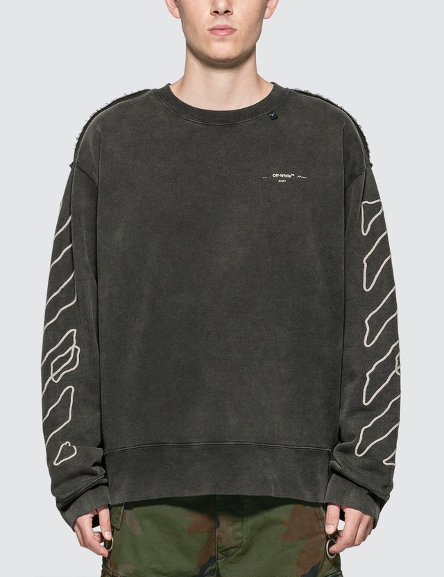 Off-White Abstract Arrows Incomp Sweatshirt