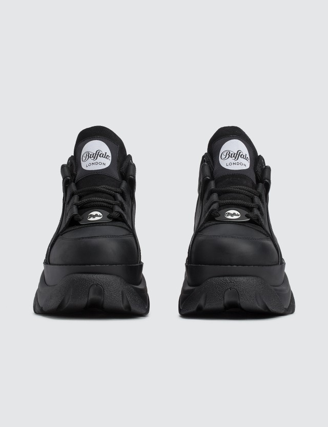 Buffalo London Buffalo Classic Black Low-top Platform Sneakers