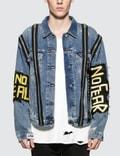 Faith Connexion NTMB Monster Zip Detail Denim Jacket Picture