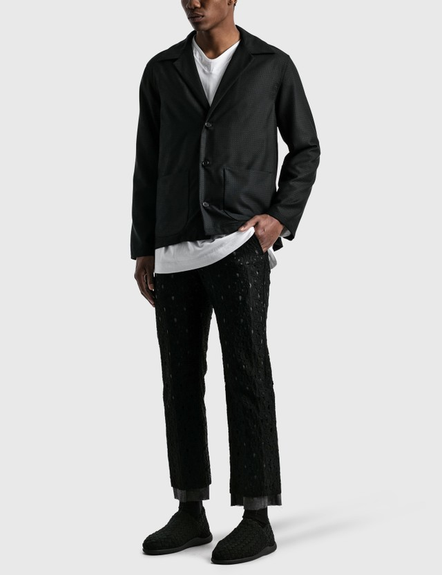 Sasquatchfabrix. Tailored Shirt Jacket Black Men