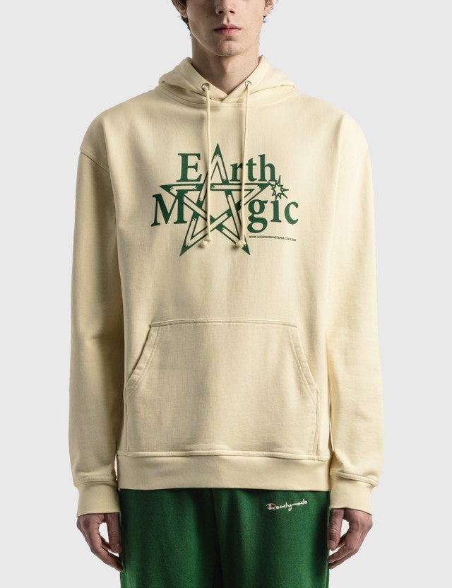 Good Morning Tapes Earth Magic Pullover Hoodie Natural Men