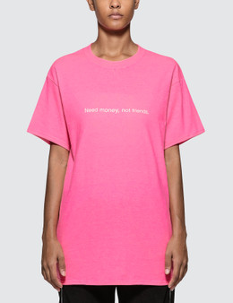 Fuck Art, Make Tees Need Money Not Friends. Neon Tee