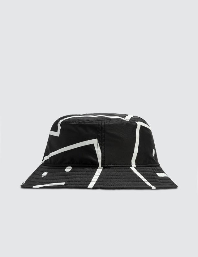 Acne Studios Face Motif Bucket Hat