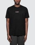 Mains 3D Logo S/S T-Shirt Black Men