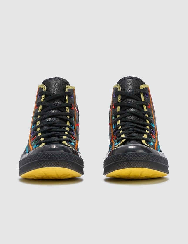 Converse Chuck 70 Hi Black/black/opti Yellow Women