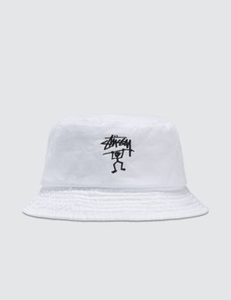 STUSSY | Stussy Warrior Man Bucket Hat | Goxip