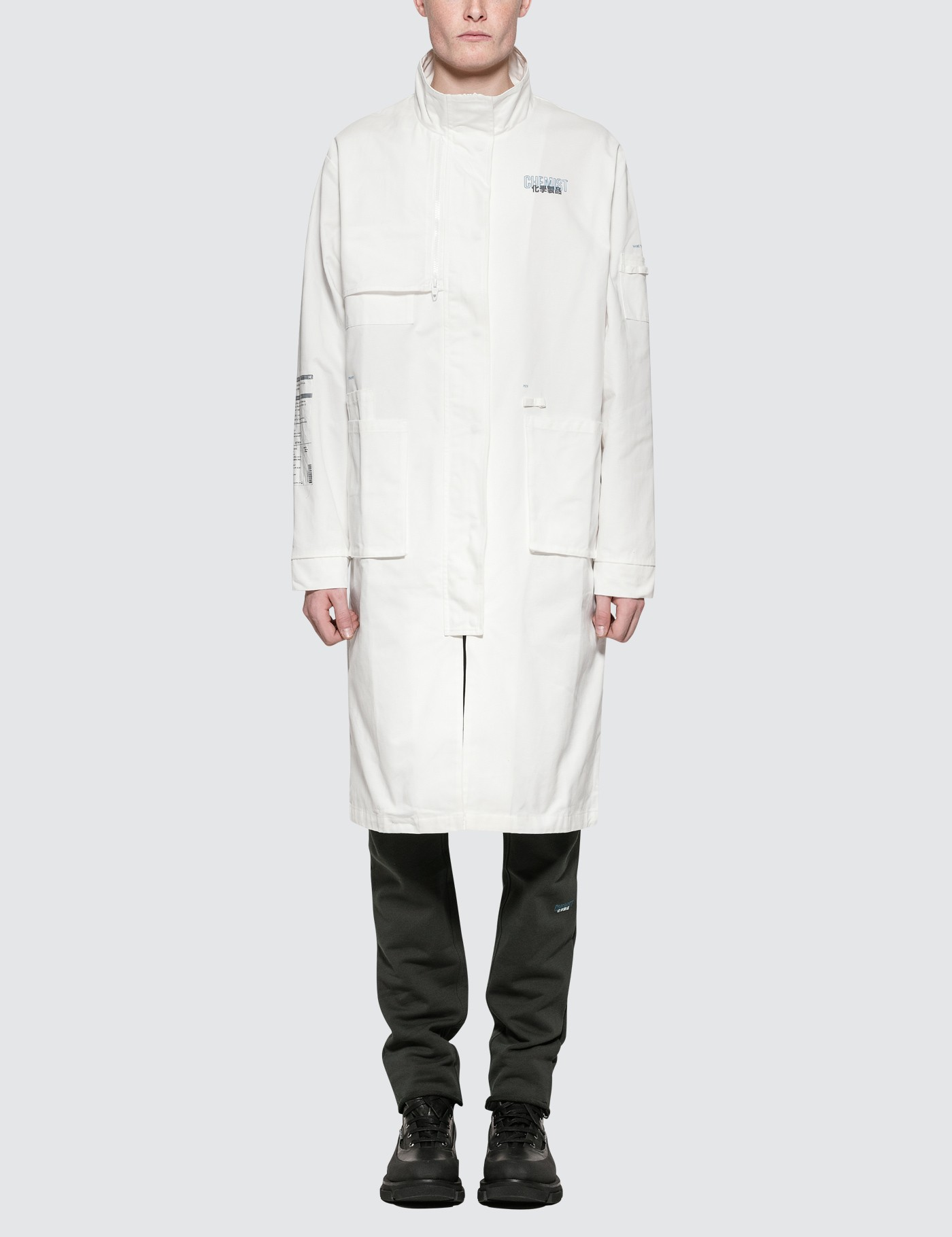 "C2H4 Los Angeles ""Workwear"" Lab Coat Picture"