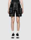 ALCH Velcro Panelled Short With Removable Pockets Picutre