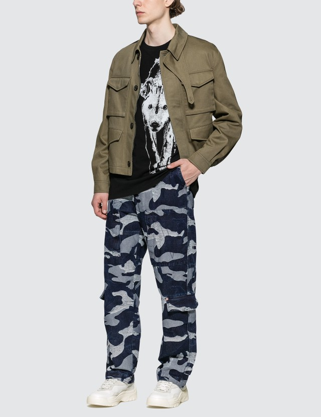 Valentino Denim Cargo Pants
